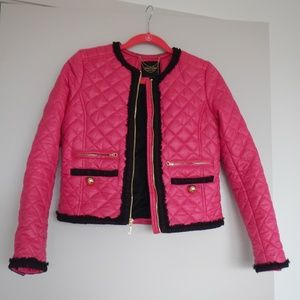 Juicy Couture quilted jacket/blazer